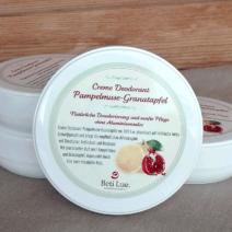 Beti Lue. Creme Deodorant Pampelmuse-Granatapfel
