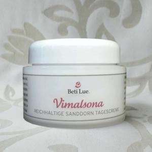 Reichhaltige Sanddorn Tagescrème Vimalsona