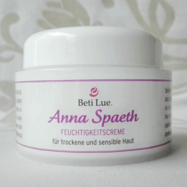 Feuchtigkeitscreme Anna Spaeth - für sensible und trockene Haut
