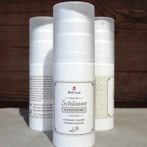 Schlosser Handcreme - für rissige und strapazierte Hände     50ml