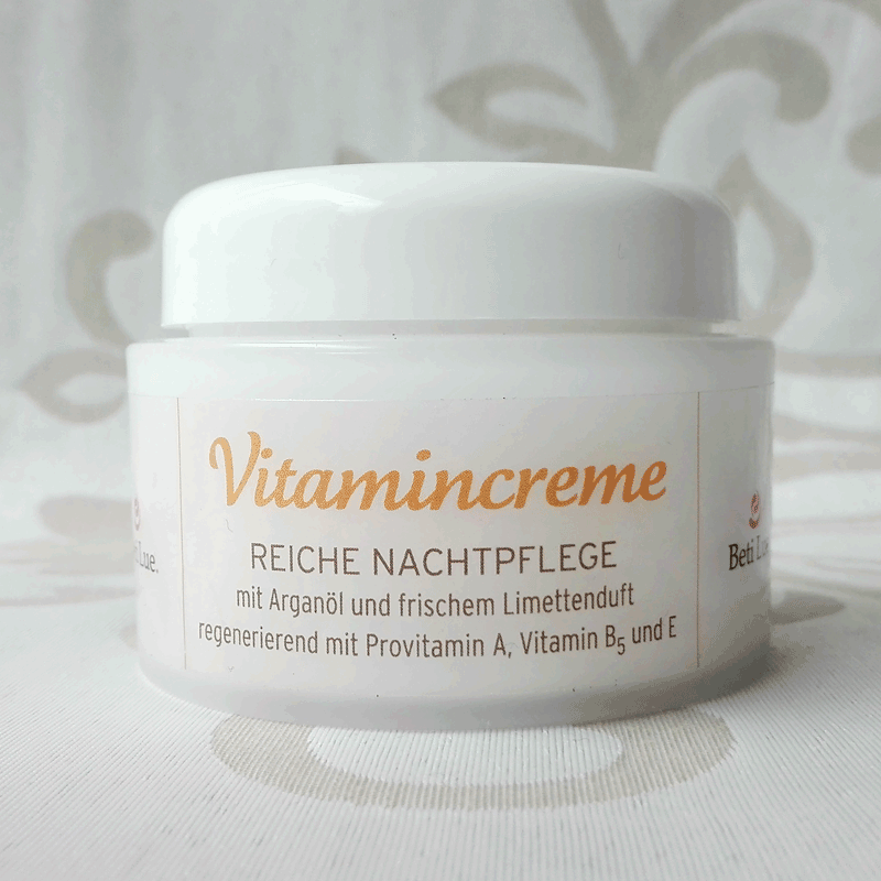 Vitamincreme - reiche Nachtpflege