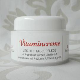 Vitamincreme - leichte Tagespflege