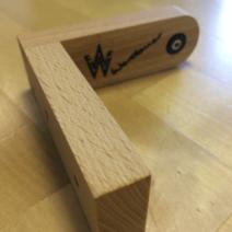 Seifenhalter aus Holz