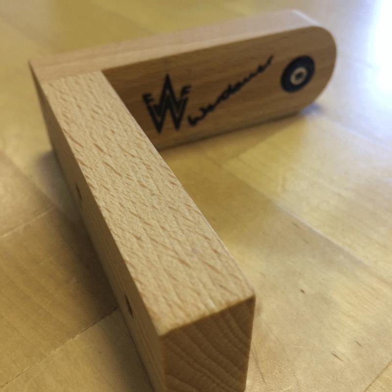 Wandseifenhalter Holz