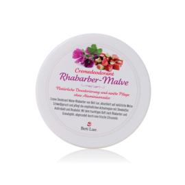 Beti Lue. Creme Deodorant Rhabarber-Malve - ein fruchtiger Duft für viele Stunden