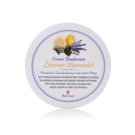 Beti Lue. Creme Deodorant Zitrone-Lavendel- ein frischer Duft für viele Stunden