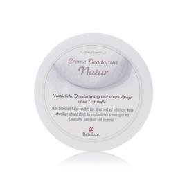 Beti Lue. Creme Deodorant Natur - ohne Duftstoffe